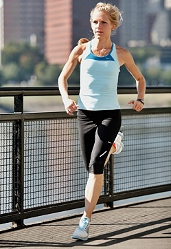 Running Faster with Forefoot Running
