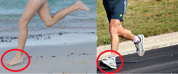 Why Running Barefoot Does Not Cause Shin Splints