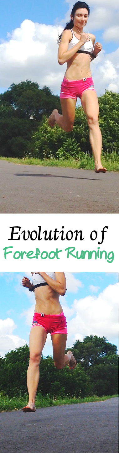 Evolution of Forefoot Running