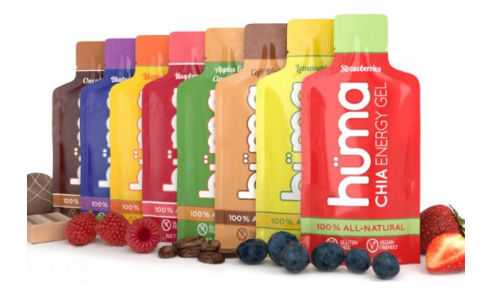 Chia Energy Gels Runners
