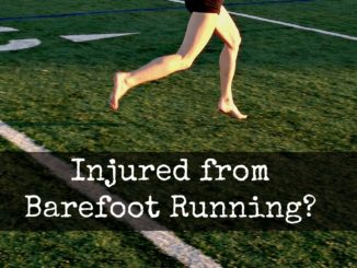 Injured From Barefoot Running