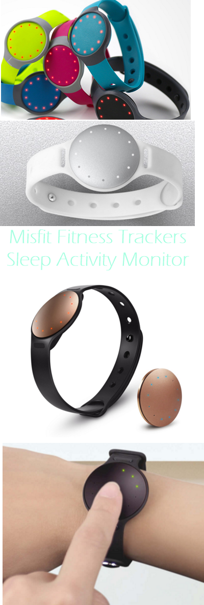 Misfit Fitness Trackers Sleep Activity Monitor for Running