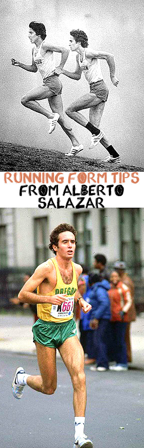 Running Form Tips from Alberto Salazar
