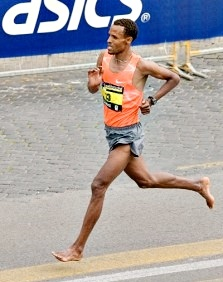Barefoot Running During a Marathon