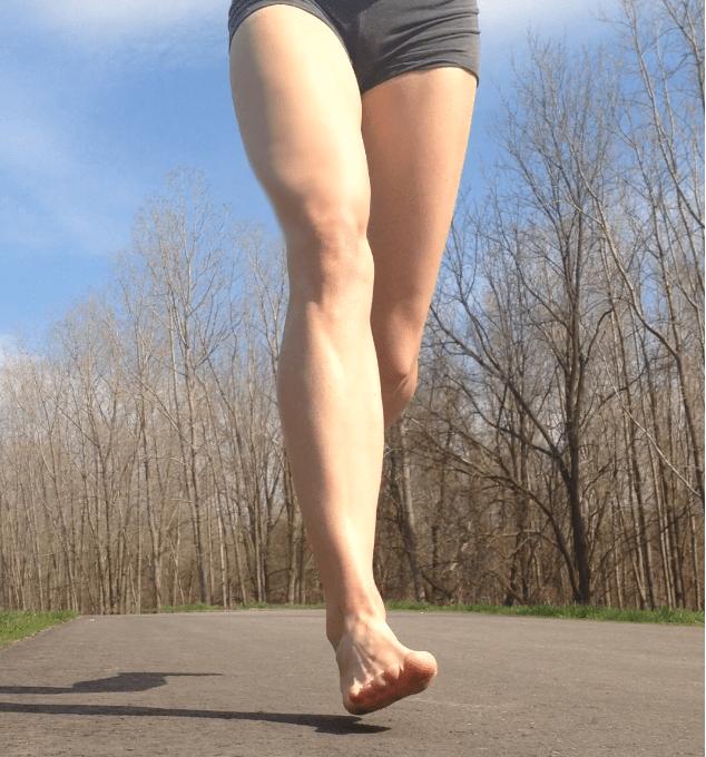 Dealing with Shin Splints When Barefoot Running