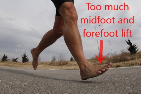 How NOT to Run Barefoot