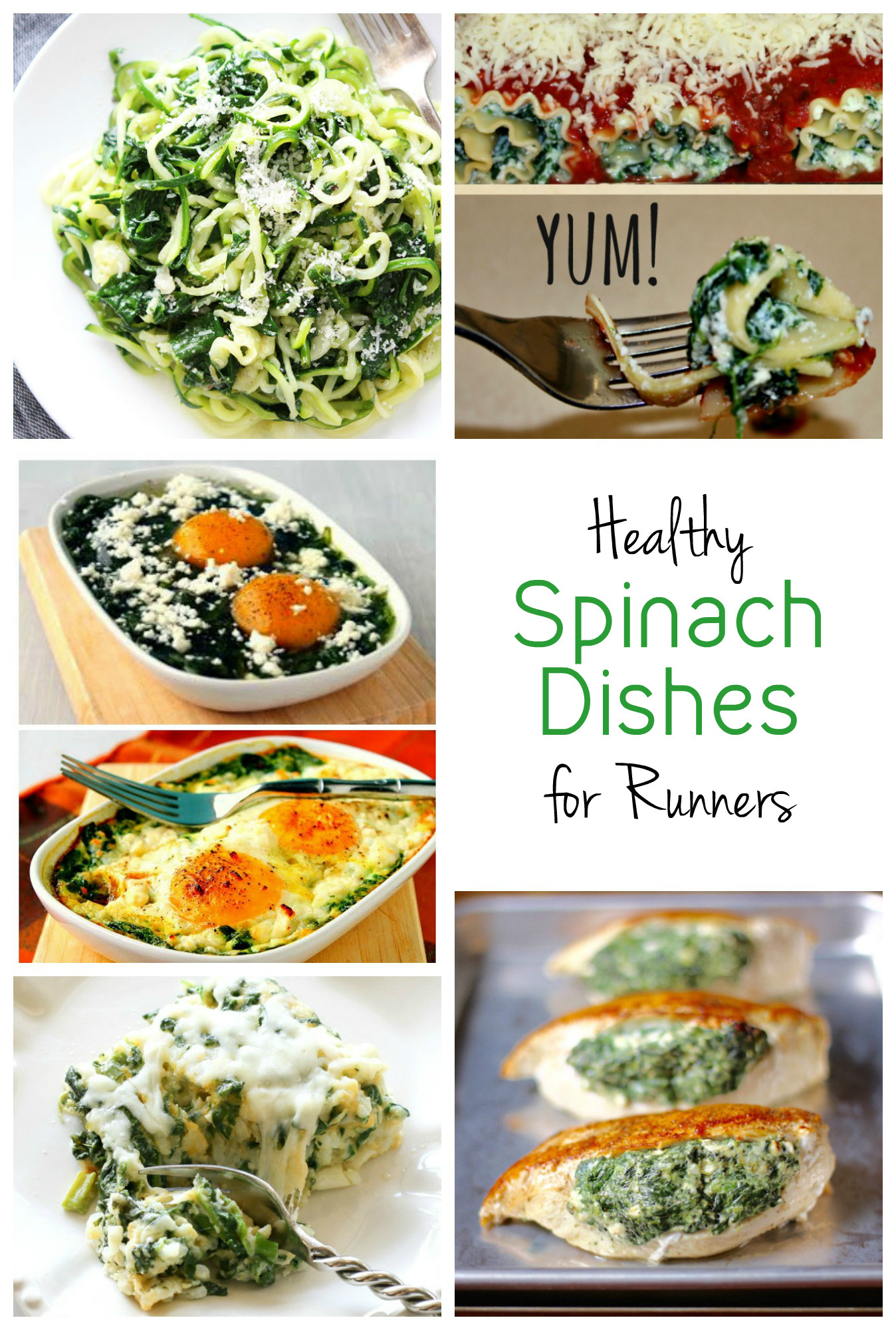 Healthy Spinach Dishes for Runners