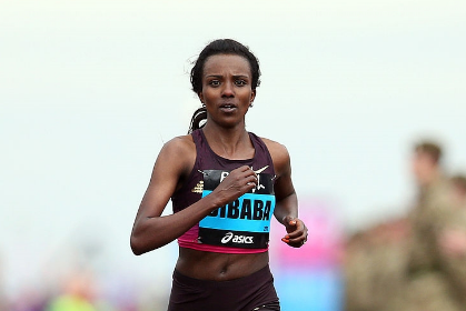 Tirunesh Dibaba Running Arm Swing