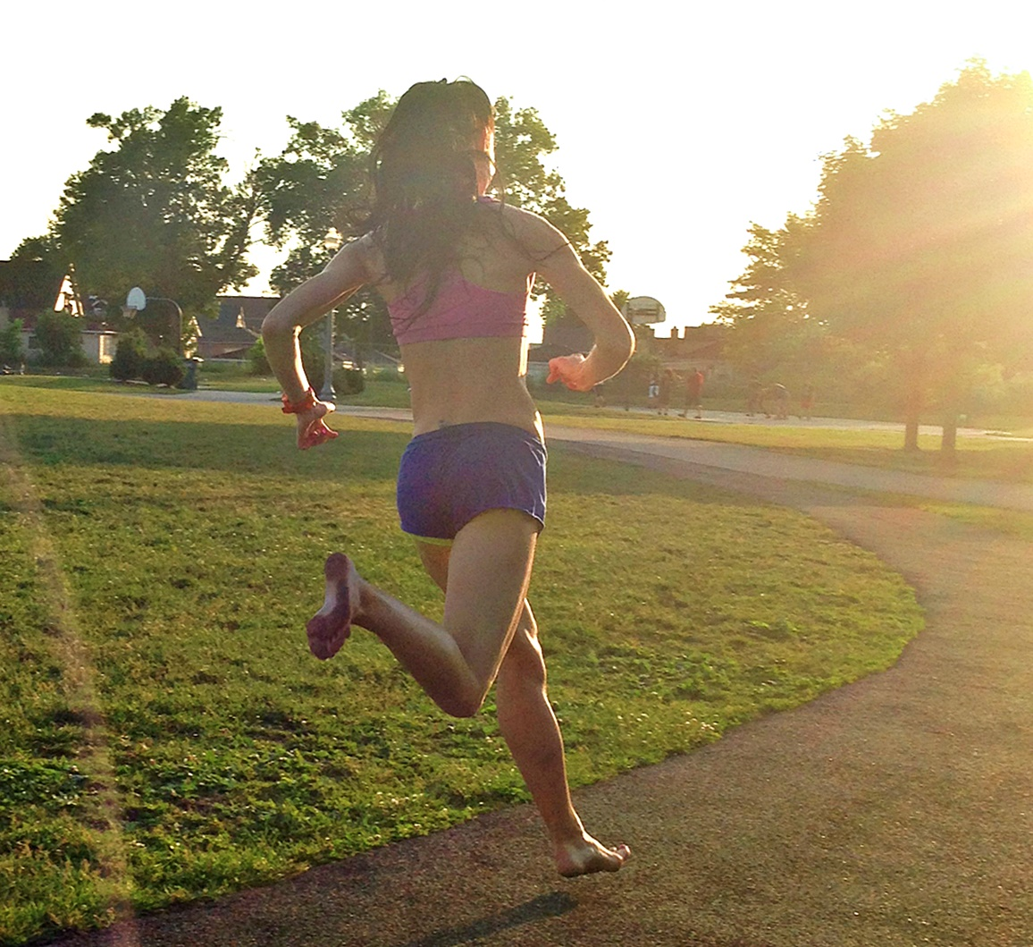 Forefoot Running Reduce Deceleration of the Body