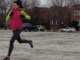 Forefoot Running Produces Less Braking