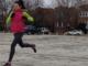Forefoot Running Produces Less Braking
