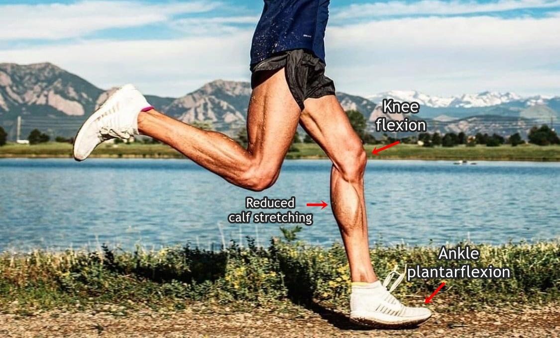 Forefoot Running May Reduce Calf Strain