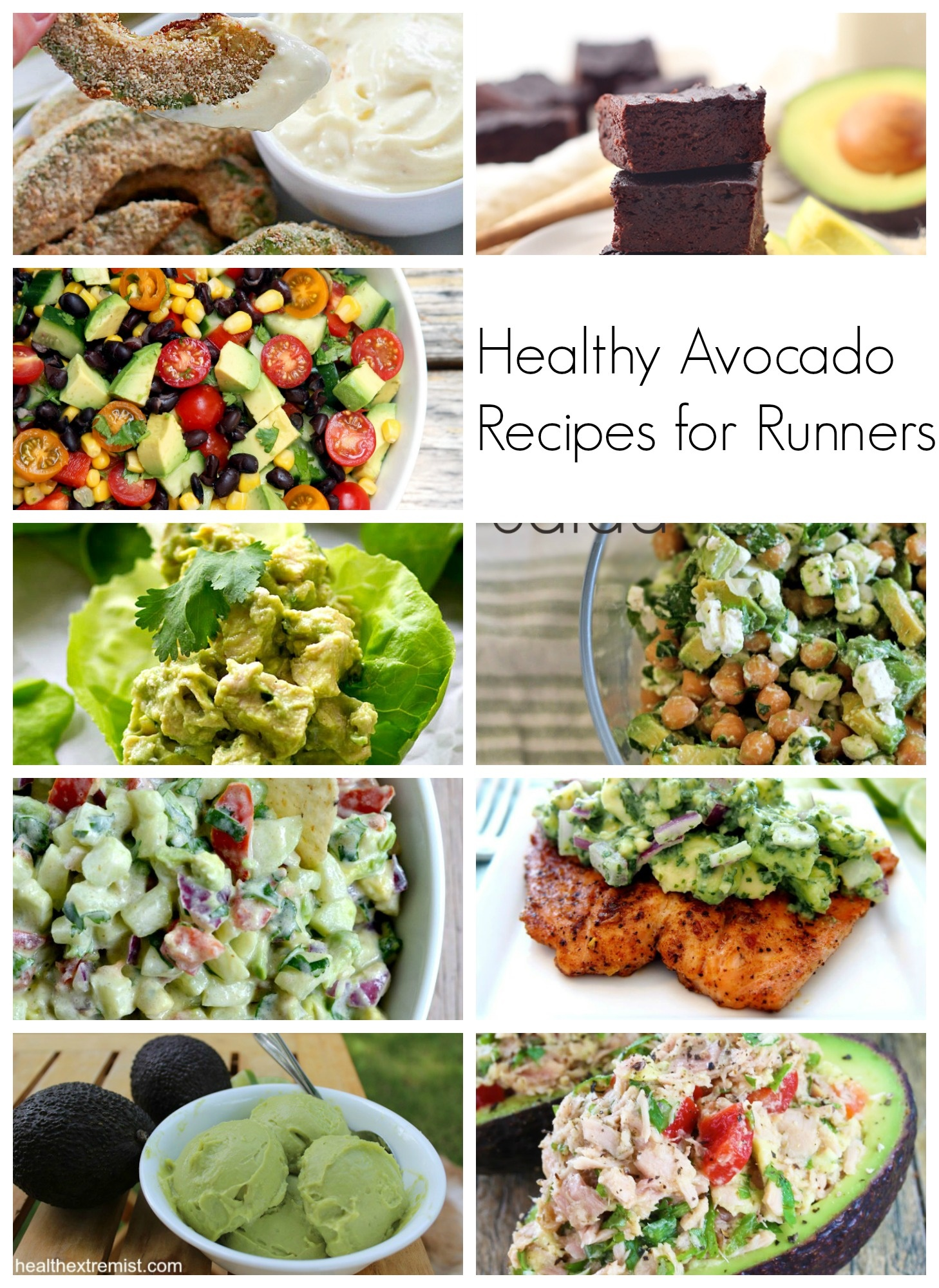 Healthy Avocado Snacks