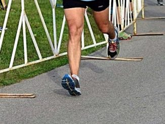Heel Strike Running May Cause Shin Splints