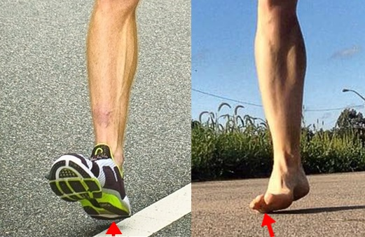 How Heel Strike is Different From Forefoot Strike Running