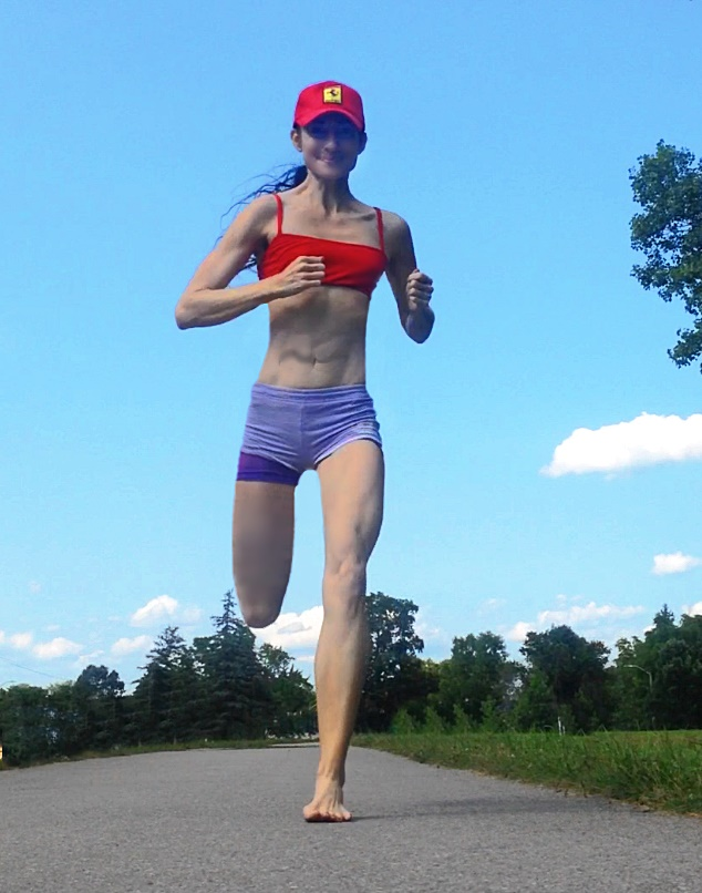 Forefoot Running While Barefoot May Fix Foot Overpronation