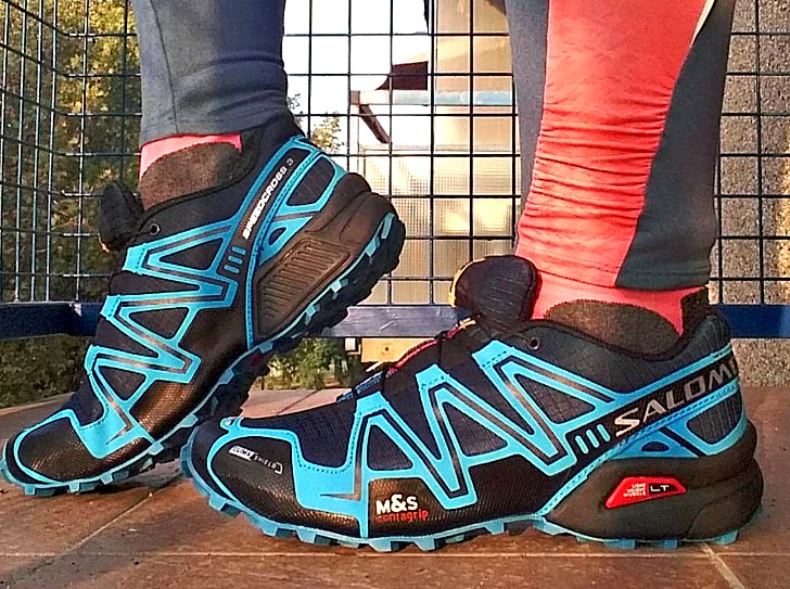 Running Shoes with Traction