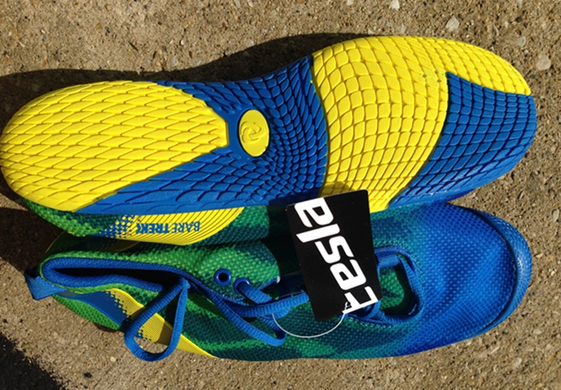 Telsa Running Shoes Review for Forefoot Running