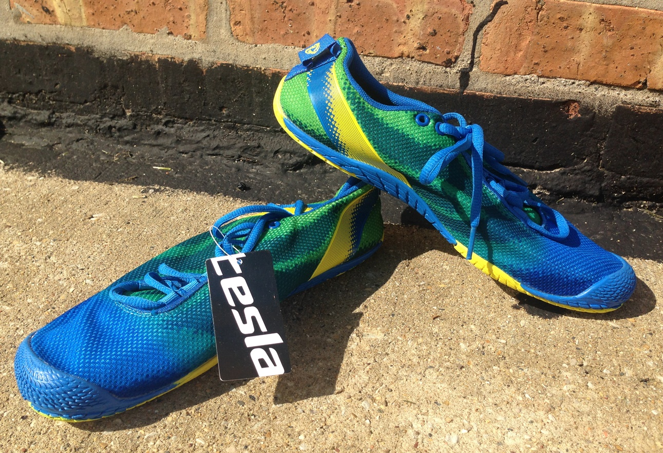 Tesla Barefoot Shoes Review for Forefoot Running