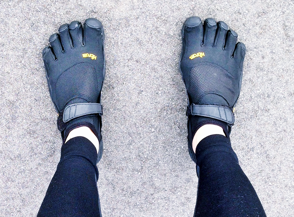 Vibram Five Fingers KSO Review for Forefoot Running